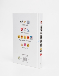 Livre How to Speak Emoji, Asos, 13,99 euros