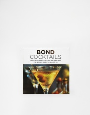 Livre Bond Cocktails, 9,99 euros