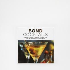 Livre Bond Cocktails, 9,99 euros