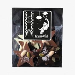 Mendiants étoiles aux trois chocolats, Daniel Mercier, 9,90 euros