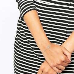 Bracelet os porte-bonheur, argent massif, Dogeared, 55,99 euros