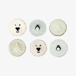 Cupcakes décor Noël, Fiona Cairns, 9,90 euros