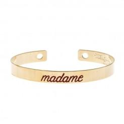 Jonc Madame or et bordeaux, Monsieur Simone, 69 euros