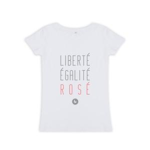 T-shirt Liberté, Les Petits Frenchies, 25 euros
