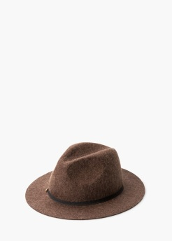 Chapeau Fedora en laine, Mango, 29,99 euros