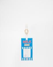 Etiquette à bagage brique de lait, SkinnyDip, 8,49 euros