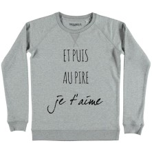 Sweat Je t'aime, Triaaangles, 44,90 euros