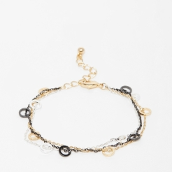 Bracelet chaînes multi-rangs, Warehouse, 10,99 euros