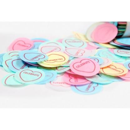 Confettis multicolores Sweetheart, Bird on the wire, 7,95 euros
