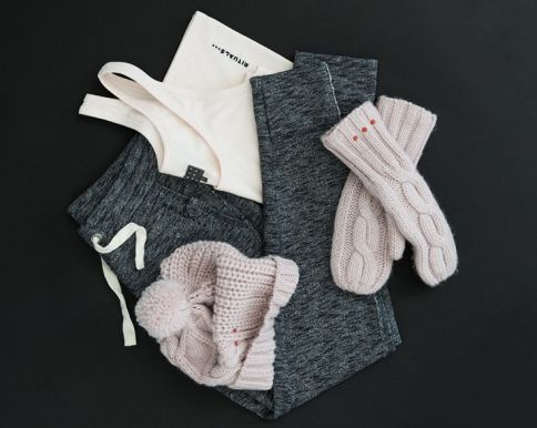 Ensemble gris er rose Rituals