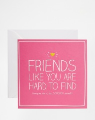 Carte Friends like you, Happy Jackson (Asos), 4,49 euros