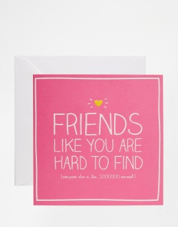 Carte Friends like you, Happy Jackson (Asos), 4,49 euros
