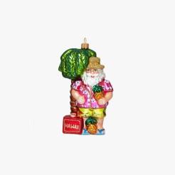 Boule Père Noël Hawaïen, Le Bon Marché, 22 euros