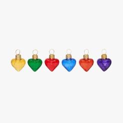 Set boules cœur, Le Bon Marché, 12 euros