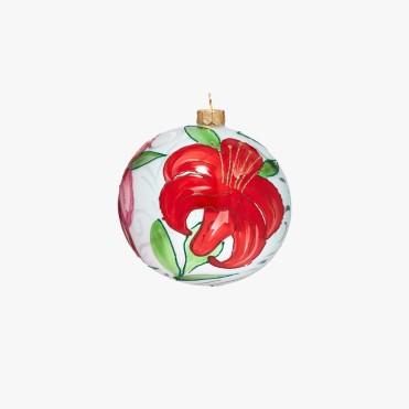 Boule fleur Rose, Le Bon Marché, 25 euros