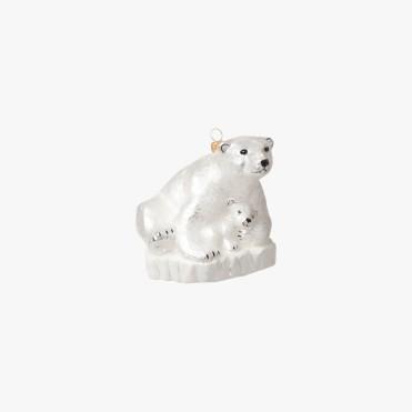 Boule ours polaire et ourson, Le Bon Marché, 18 euros