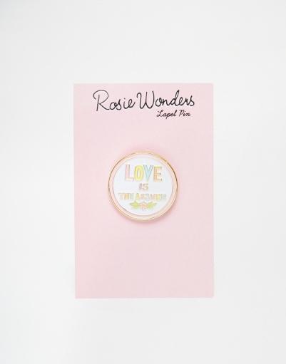 Epingle de col, Rosie Wonders (Asos), 11,49 euros