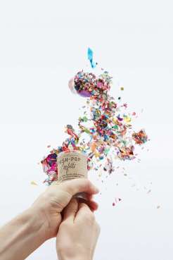 Lance-confettis original, Urban Outfitters, 17 euros