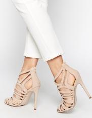 Chaussures effet cages à talons hauts Elko, Asos, 37,49 euros