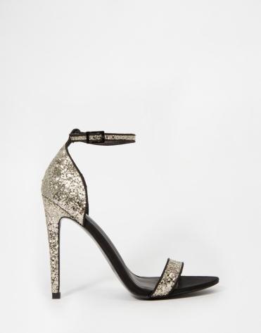 Sandales à talons Helium, Asos, 33,49 euros