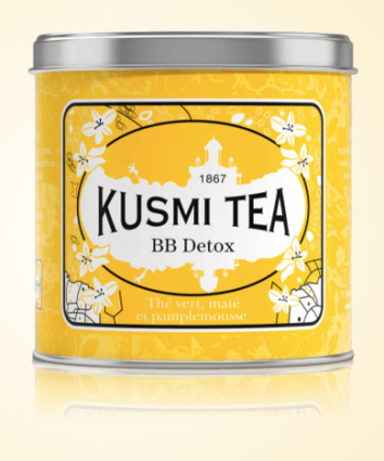 Thé BB Detox, Kusmi Tea, boite métal 250g, 26,70 euros
