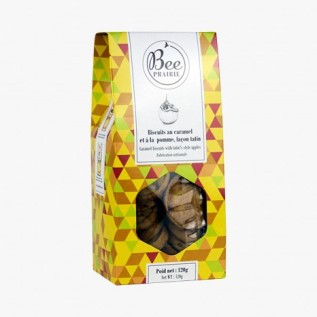 Biscuits caramel et pomme, Bee Prairie, 4,50 euros