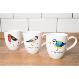 Tasses en porcelaine, Bird Mug, 9,50 euros l'une