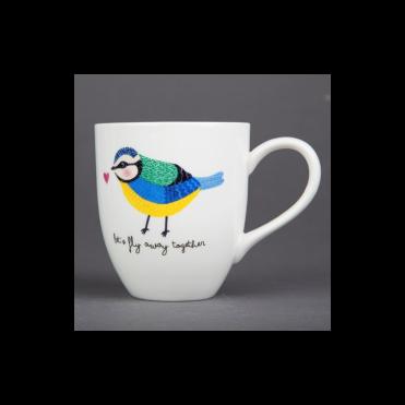 Tasse en porcelaine, Bird Mug, 9,50 euros