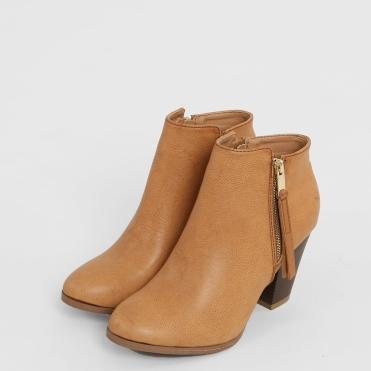 Boots à talons, Pimkie, 17 euros