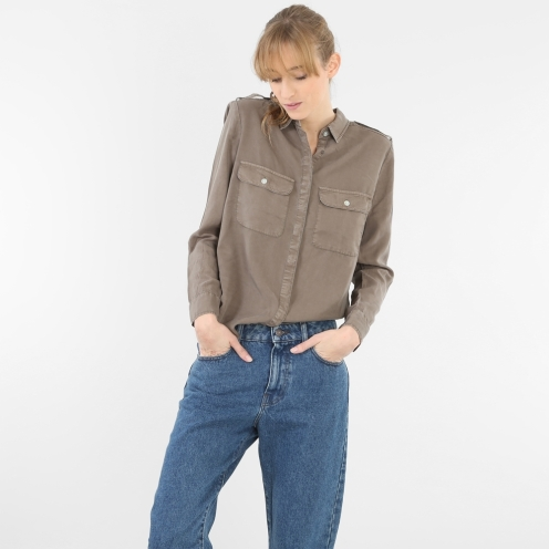 Chemise à poches, Pimkie, 27,99 euros