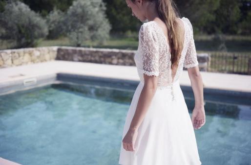 Robe courte Martine, Christina Sfez