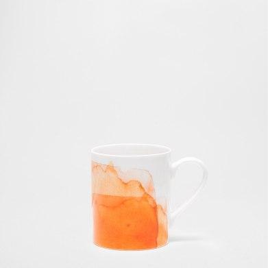 Mug en porcelaine Aquarelle, Zara Home, 6,99 euros