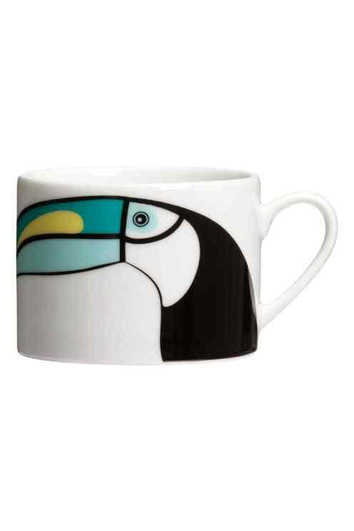 Mug en porcelaine, H&M Home, 5,99 euros