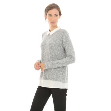 Pull col chemise, Pimkie, 19,99 euros