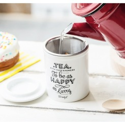 Tasse avec infuseur, Mr Wonderful sur BirdOnTheWire, 19,50 euros