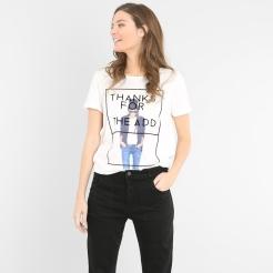 T-shirt à message, Pimkie, 9,99 euros
