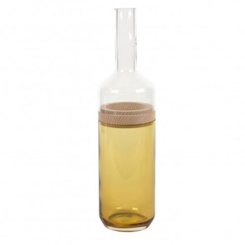Vase bouteille duo PM, ambre, Fleux, 67,90 euros