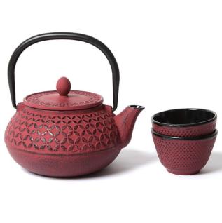 Service à thé Yokuka en fonte, Nature et Découvertes, 46,50 euros