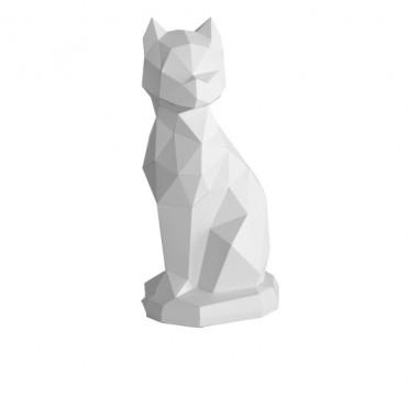 Zwicki le chat origami gris, Assembli x Fleux, 31,90 euros