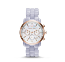 Montre Audrina Or rose et glycine, Michael Kors, 220 euros