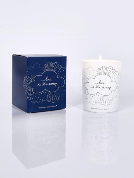 Bougie parfum figuier, La bougie pour Ninoo, Emoi Emoi, 20 euros