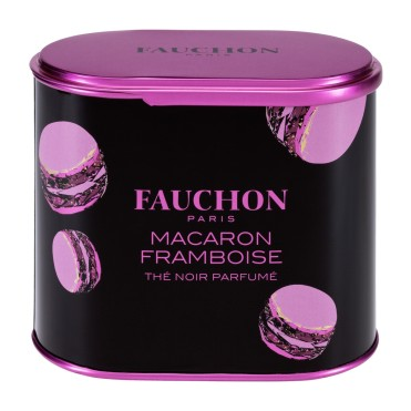 Thé macaron framboise, Fauchon, 14,80 euros