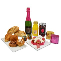 Brunch Saint-Valentin, Fauchon, 90 euros