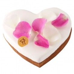 Tarte cœur rose et jasmin, Pierre Hermé, 34 euros