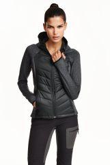 Veste poids plume matelassée, H&M Sport, 39,99 euros