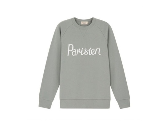 Sweat à message, Maison Kitsuné, 150 euros