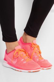 Baskets en résille Free 5.0, Nike sur Net-A-porter, 84 euros