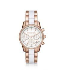 Montre Ritz or rose, Michael Kors, 220 euros