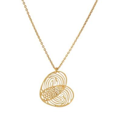 Collier cœur croisé, Lucie Saint-Leu sur Minimall.fr, 52 euros