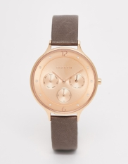 Montre Anita or rose, Skagen, 153 euros